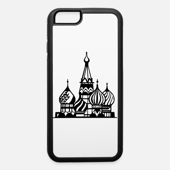 Communist iPhone Cases - moscow - iPhone 6 Case white/black