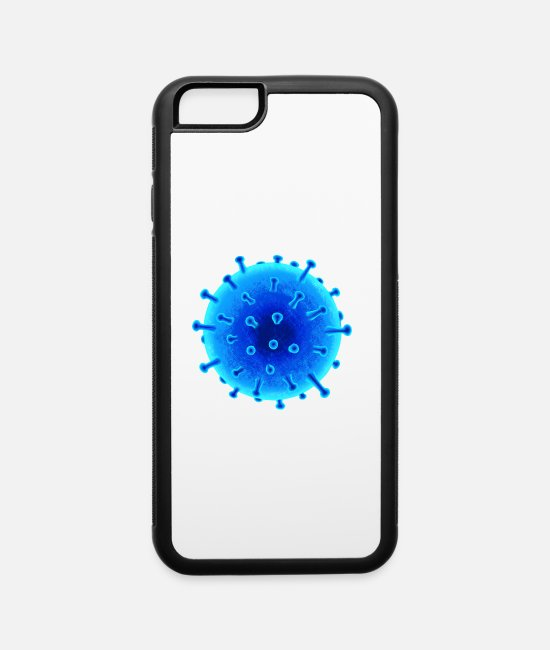 Infection iPhone Cases - Virus / Corona / HIV - iPhone 6 Case white/black