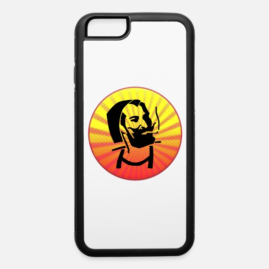 Pothead iPhone Cases - ZIG ZAG Cosmicman - iPhone 6 Case white/black