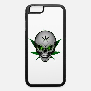 Smoke Weed Cannabis Skull - iPhone 6 Case