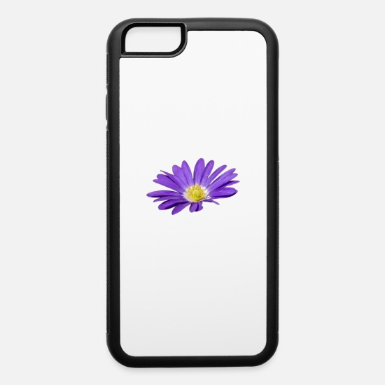 Blossom iPhone Cases - Purple Blossom - iPhone 6 Case white/black