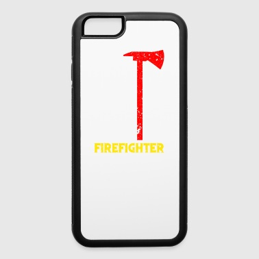 Fire Department Firefighter Flag Axe Thin Red Line USA Flag TShirt - iPhone 6/6s Rubber Case