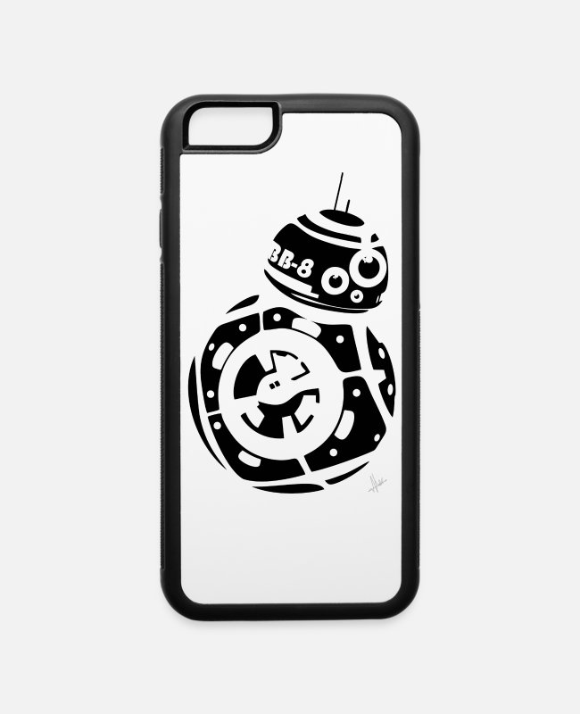 Chewbacca iPhone Cases - BB8 - iPhone 6 Case white/black