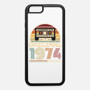 47th Beautiful Retro Vintage tape birthday 1974 - iPhone 6 Case