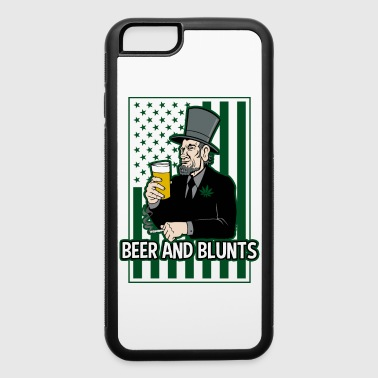 Blunt Beer and Blunts Abe Lincoln - iPhone 6/6s Rubber Case