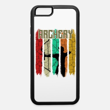 Bowhunter Retro Vintage Style Archer Silhouette 70s Archery - iPhone 6 Case