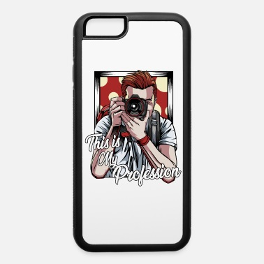 Paparazzo Cool Vintage Photographer 70s Photography Camera - iPhone 6 Case
