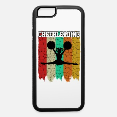 Chant Retro Style Vintage Cheerleader Silhouette Cheers - iPhone 6 Case