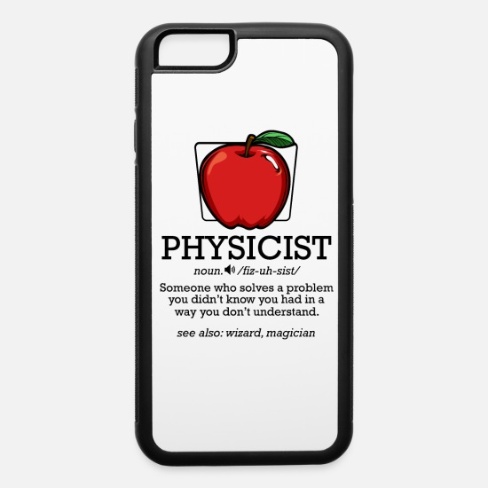 Physicist iPhone Cases - physicist - iPhone 6 Case white/black