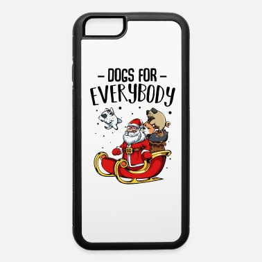 Wuff Cute Dogs Santa Claus Wuff Gift - iPhone 6 Case