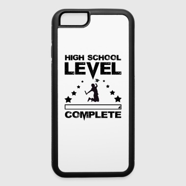 Gamer High School Graduate Graduation - iPhone 6/6s Rubber Case