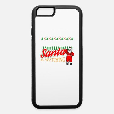 Santa Claus Christmas Electrician Santa Says Be Nice to the - iPhone 6/6s Rubber Case