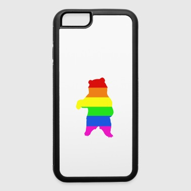 Lovely & Cute Tshirt Design Free Bear Hugs - iPhone 6/6s Rubber Case