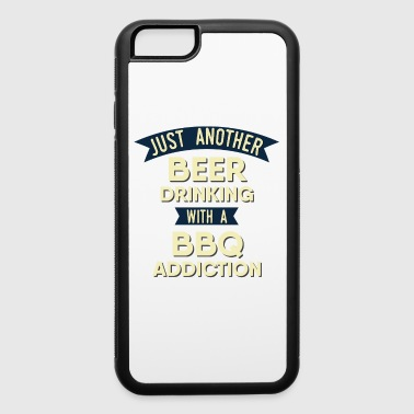Pitmaster BBQ Barbecue food grill Put my meat in your mouth and swallow design bbq addiction - iPhone 6/6s Rubber Case