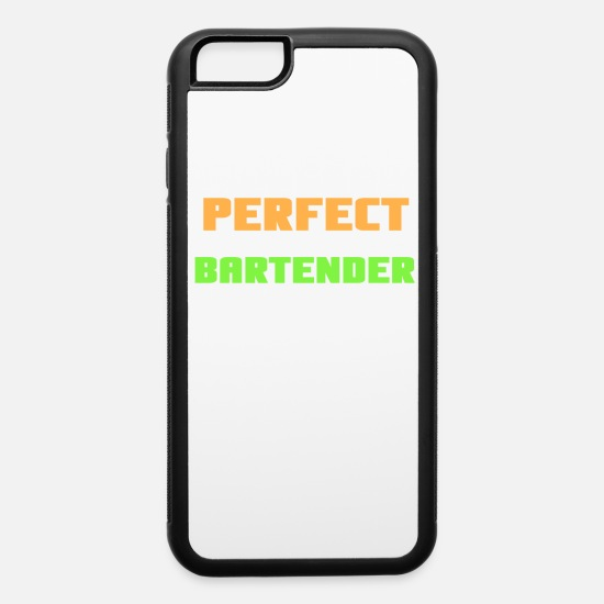 Slogans iPhone Cases - perfect! so close enough Shots Party Alcohol trust me Bartender Beer Waiter Liquor Bistro Glass Tequ - iPhone 6 Case white/black