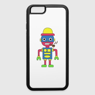 Pipe Smoking TShirt For Pipe Smoker Shape Pipe - iPhone 6/6s Rubber Case