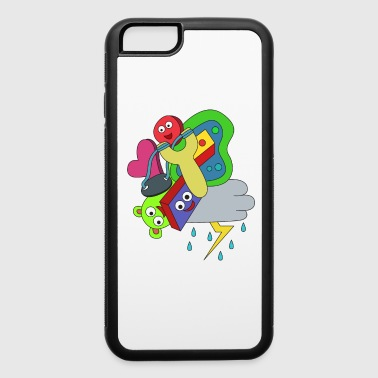 Awsome & Cool Slingshot Tshirt Design Slingshot doodle - iPhone 6/6s Rubber Case