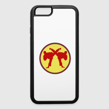 The Fighter's Sparring Tshirt Design SPARRING BETTER THAN THERAPY - iPhone 6/6s Rubber Case