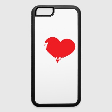 Meme Funny Description Immature Tshirt Design I love being Immature - iPhone 6/6s Rubber Case