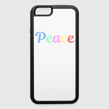 Hippie Spread the Love with this Peace of mind Tshirt Design Peace of mind. - iPhone 6/6s Rubber Case