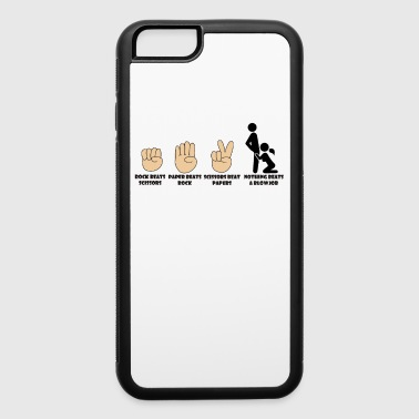Naughty Adult Humor Novelty Graphic Sarcasm Funny T Shirt Nothing beats a blowjob - iPhone 6/6s Rubber Case