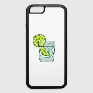 Relax Funny & Relaxing Vodka Tee Design LEMONS AND VODKA - iPhone 6/6s Rubber Case