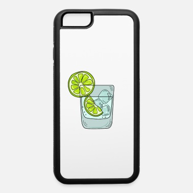 Whiskey Funny & Relaxing Vodka Tee Design LEMONS AND VODKA - iPhone 6/6s Rubber Case