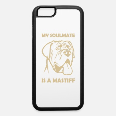 Siblings Show your endless infinite love Soulmate TShirt Mastiff - iPhone 6/6s Rubber Case