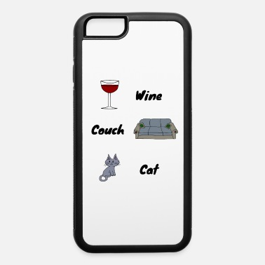 Lazy Cute Kitty Cat Gift Animal Love Funny Cat Pictures - iPhone 6/6s Rubber Case