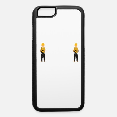 Mechanic Funny Drill Tshirt Designs YOUR WALLETS - iPhone 6/6s Rubber Case