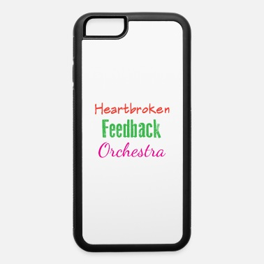 Electricity Funny Feedback Tshirt Designs Heatbroken - iPhone 6/6s Rubber Case