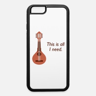 Tradition Awesome Banjo's Tshirt Design This is all I need - iPhone 6/6s Rubber Case