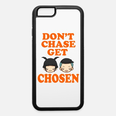 Relationship Great Tee typography design saying Chosen and - iPhone 6/6s Rubber Case