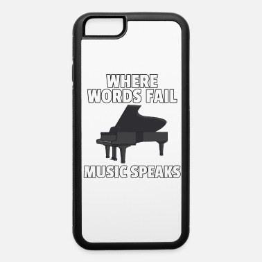 Layer piano pianist musician music grand piano player - iPhone 6 Case