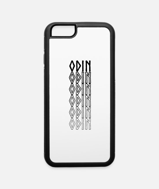Viking iPhone Cases - Odin.Walhall.Norse.Nordic.Arsen.Sleipnir,Fenrir - iPhone 6 Case white/black