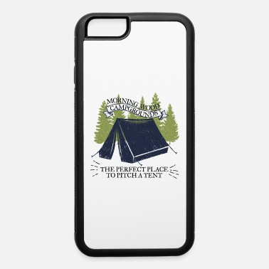 Campground Morning Wood Campground Is Pefect To Pitch A Tent - iPhone 6 Case