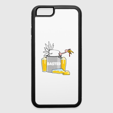 Basted Turkey Funny Drinking Thanksgiving Graphic - iPhone 6/6s Rubber Case