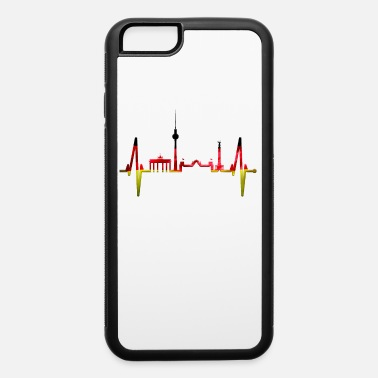 Does Berlin Heartbeat Skyline German Flag Fan Lover - iPhone 6 Case