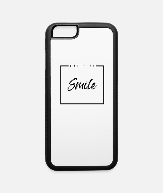 Heart iPhone Cases - Smile - iPhone 6 Case white/black