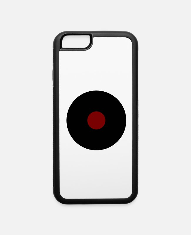 Heart iPhone Cases - Record - iPhone 6 Case white/black
