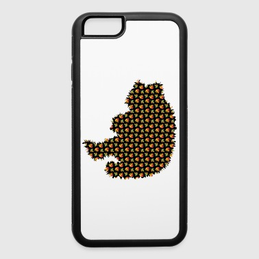 Bear Grizzly Exclusive Design Gift graphic artwork - iPhone 6/6s Rubber Case