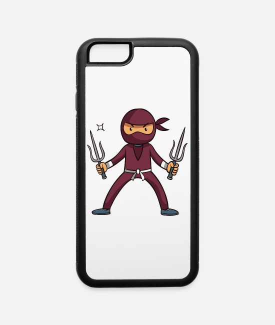 Form iPhone Cases - Ninja - iPhone 6 Case white/black