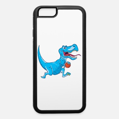 Dribbling T-Rex Hates Basketball - Funny Basketball Shirt. - iPhone 6 Case