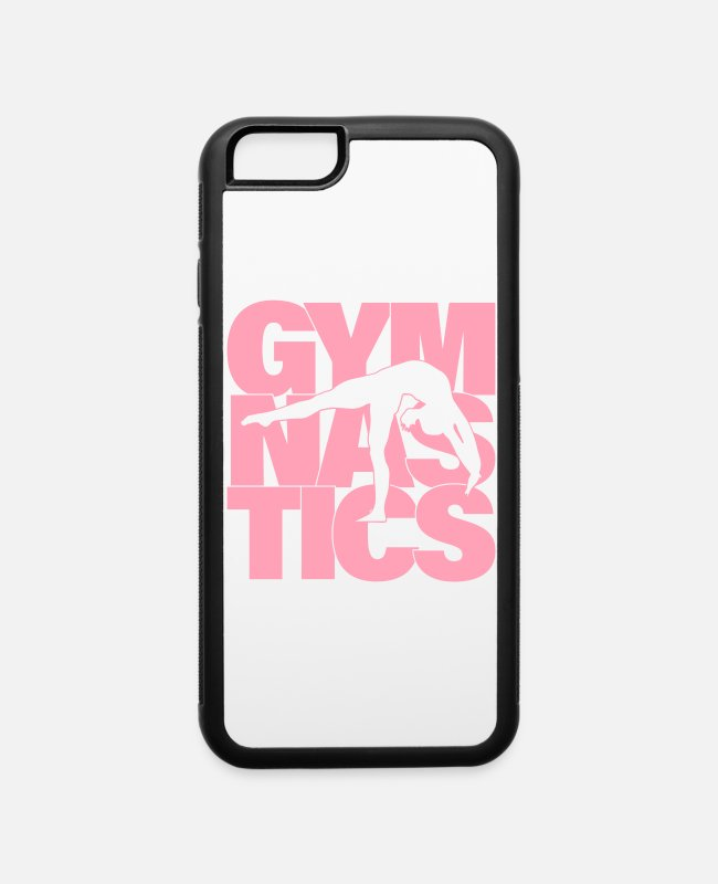 Competition iPhone Cases - Gymnastics, Gymnast - iPhone 6 Case white/black