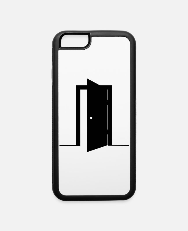 Secret iPhone Cases - Door - iPhone 6 Case white/black