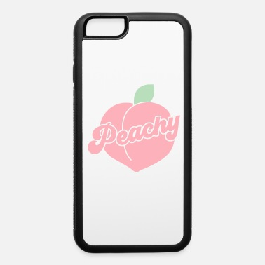 Peachy Retro Vintage Groovy Hippie 70s Gift - iPhone 6 Case