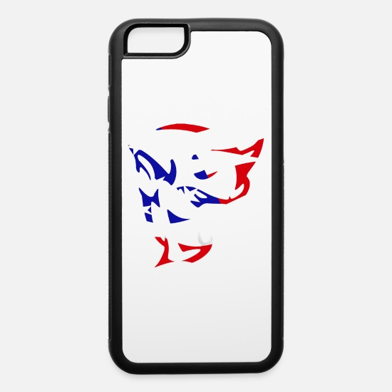 Dodge iPhone Cases - DODGE DEMON MURICA - iPhone 6 Case white/black