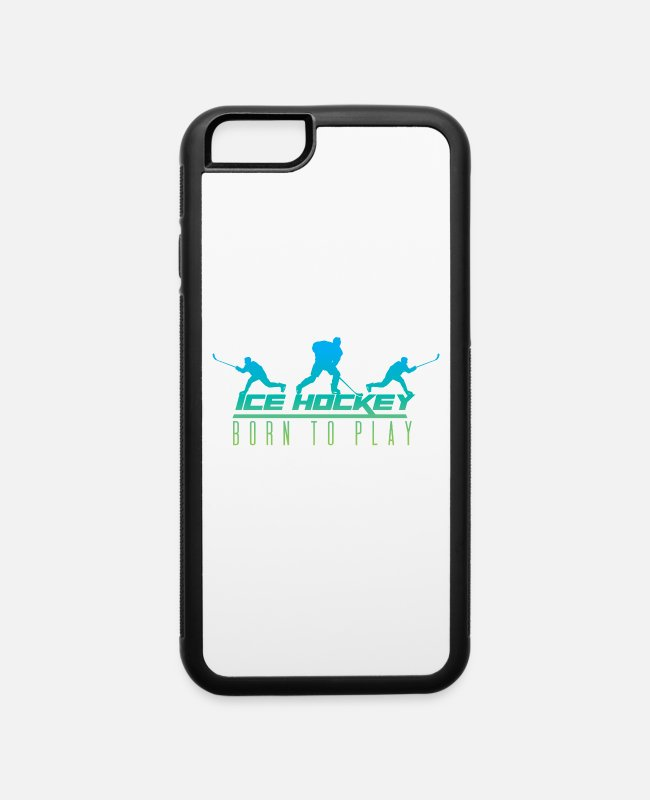 Hockey Team iPhone Cases - Ice Hockey Team - iPhone 6 Case white/black