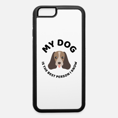Training The best person dog owner quote present - iPhone 6 Case