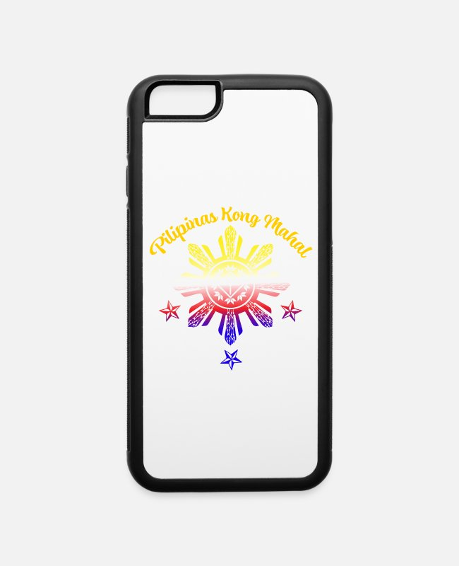 Proud iPhone Cases - Pilipinas Kong Mahal Filipino Love Philippine Flag - iPhone 6 Case white/black